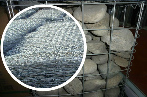 Welded Gabions Coating Galfan Znal For Construction And