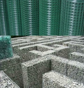 Gabion Elements for Wall Cladding