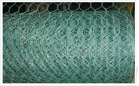 Hexagonal Hole Twisted Mesh for Gabions Making